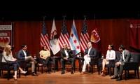 Barack Obama fait son retour pour parler politique avec de jeunes Américains