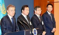 Moon Jae-in nomme les premiers membres de son administration