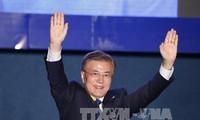 Moon Jae-in devient le nouveau président de la République de Corée