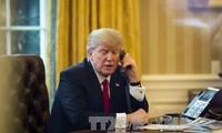 Entretien téléphonique Donald Trump – Moon Jae-in