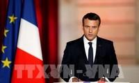 Le premier discours officiel d'Emmanuel Macron