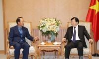 Trinh Dinh Dung reçoit le PDG de Korea Southern Power