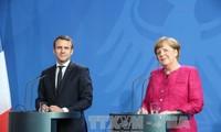 Emmanuel Macron à Berlin pour une refondation de l'Europe