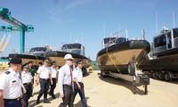 Les Etats-Unis transfèrent 6 navires de patrouille à la police maritime du Vietnam