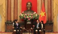 L'envoyé spécial du président sud-coréen reçu par des dirigeants vietnamiens