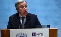 """Pour Guterres, il est """"absolument essentiel"""" que l'accord de Paris soit mis en œuvre"""