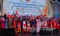 Un millier d'artistes au concours de chant choral de Hoi An 2017