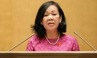 Truong Thi Mai à la conférence sur les affaires concernant les femmes