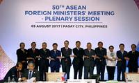 Mer Orientale: L'ASEAN appelle les parties à faire preuve de retenue