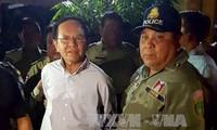 """Cambodge: le chef de l'opposition mis en examen pour """"espionnage"""""""