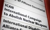 Le prix Nobel de la paix 2017 décerné à la campagne antinucléaire Ican