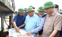 Crues: Nguyen Xuan Phuc au chevet de Ninh Binh