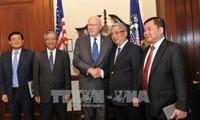 Nguyen Chi Vinh déclaré satisfait du dialogue de politique de défense Vietnam-Etats-Unis