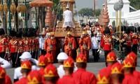 Thaïlande: les obsèques du roi Bhumibol Abulyadej