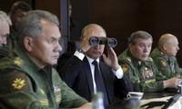 Les exercices militaires russes inquiètent l'Otan