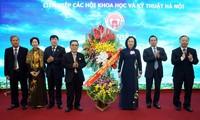 L'Union des associations scientifico-techniques de Hanoi à l'honneur