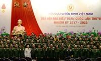 Clôture du Congrès de l'Association des anciens combattants vietnamiens