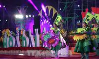 Clôture du 7ème festival des fleurs de Dalat