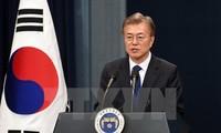 Moon Jae-in veut des mesures rapides pour la participation du Nord aux JO de PyeongChang