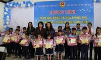 Dang Thi Ngoc Thinh au 30ème anniversaire des villages SOS Vietnam