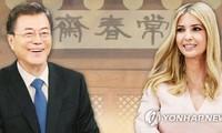 Moon Jae-in recevra Ivanka Trump pour un dîner à la Maison bleue