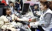 Plus de 10.200 unités sanguines collectées lors de la fête du printemps rouge 2018