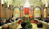 Pour une coordination plus étroite entre la présidence de la République et le FPV