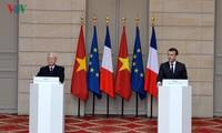 Amélioration des relations Vietnam-France et Vietnam-Cuba