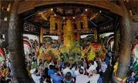 La cérémonie d'offrande d'encens aux rois Hung 2018