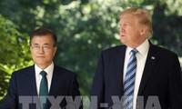 Moon et Trump s'entretiennent au téléphone suite au sommet intercoréen