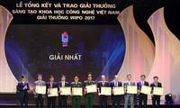 Remise des prix de création scientifico-technique du Vietnam 2017