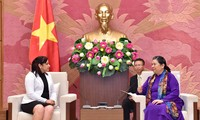 La première secrétaire de l'Union des jeunes communistes cubains au Vietnam