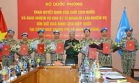 Sept soldats vietnamiens supplémentaires aux opérations de maintien de la paix de l'ONU