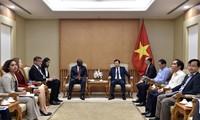 Coopération intensifiée avec la Banque mondiale dans le développement des infrastructures