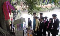 La cérémonie d'ouverture de la forêt des Dao