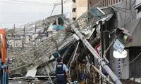 Japon: le typhon Jebi fait au moins 7 morts et de nombreux dégâts