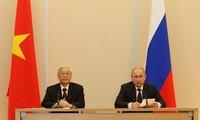 La visite du secrétaire général du Parti communiste vietnamien aux yeux d'experts russes