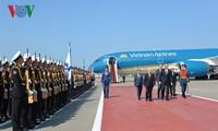Nguyên Phu Trong est arrivé en Russie