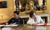 Vietnam-France: déclaration sur une vision commune en matière de défense