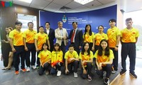 Le Vietnam arrive en Argentine pour les Jeux olympiques de la jeunesse de 2018