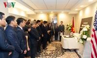 Les ambassades vietnamiennes disent adieu à l'ancien secrétaire général Dô Muoi