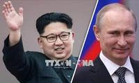 Échange de messages entre Kim Jong-un et Vladimir Poutine