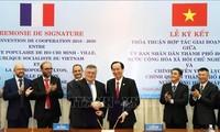Hô Chi Minh-ville et la Métropole de Lyon resserrent leur coopération
