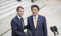 Abe et Macron s'entendent pour renforcer la coopération dans l'Indo-Pacifique