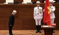 Élection de Nguyên Phu Trong: messages de félicitation