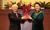 La presse japonaise parle de l'élection de Nguyên Phu Trong au poste de président vietnamien