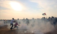 Israël attaque plus de 70 cibles à Gaza en réponse aux tirs palestiniens