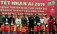 Uông Chu Luu au chevet des personnes dans le besoin à Thanh Hoa