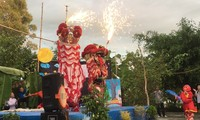 Kiên Giang: ouverture du concours de danses de licorne, de lion et de dragon
