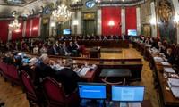 Espagne: les dirigeants indépendantistes catalans sur le banc des accusés